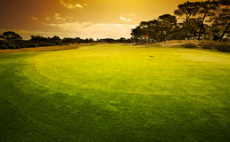 Golfing Green Stock Photos