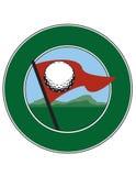 Golfing Logo Stock Photo