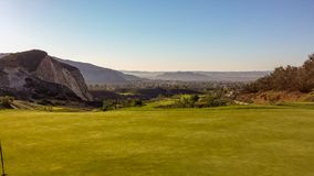 Golfing At Oak Quarry Golf Course in Southern California Stock Photos