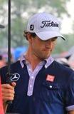 Golfing pro Adam Scott. Professional golfer Adam Scott competes on the pro golf tour Stock Photo