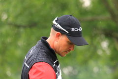 Golfing pro Henrik Stenson Stock Photo