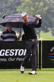 Golfing pro Mikko Ilonen of Finland Royalty Free Stock Image