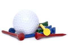Golfing Things Royalty Free Stock Image