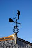 Golfing Weathervane, Spain. Stock Photos