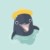 golfinho ilustração stock