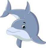 Golfinho da natação ilustração royalty free