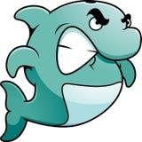 Golfinho irritado Imagem de Stock Royalty Free