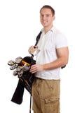 golfista obraz stock