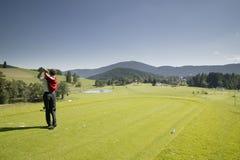 Golfista foto de archivo