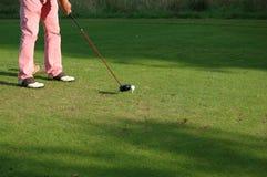 golfista Obrazy Stock