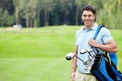 Golfista Fotos de archivo