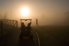 Golfista Imagen de archivo libre de regalías