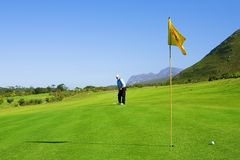 Golfista #63 Foto de archivo