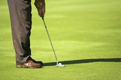 Golfista Fotos de archivo libres de regalías