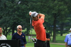 Golfista Justin Wzrastał Obraz Stock