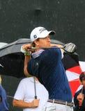 Golfista profesional Adam Scott foto de archivo libre de regalías