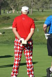 Golfista profesional de John Daly Imágenes de archivo libres de regalías