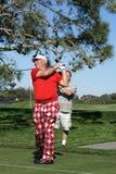 Golfista profesional de John Daly Imagen de archivo