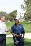 Golfista profesional de Scott McCarron Fotos de archivo