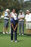 Golfista profesional de Tiger Woods Imagen de archivo