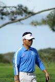 Golfista profesional del K.J. Choi Imagen de archivo libre de regalías