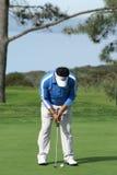 Golfista profesional del K.J. Choi Imágenes de archivo libres de regalías