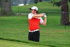 Golfista profesional Rory McIlroy Imágenes de archivo libres de regalías