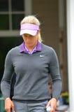 Golfista profesional Suzann Pettersen en el campeonato 2016 del PGA de las mujeres de KPMG Fotografía de archivo libre de regalías