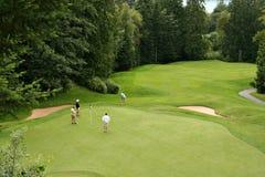 Golfistas Imagen de archivo libre de regalías