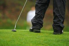 Golfisty kładzenie Zdjęcia Royalty Free
