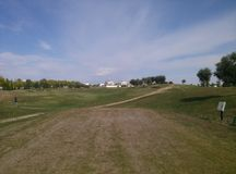 Golfkamp Stock Afbeelding