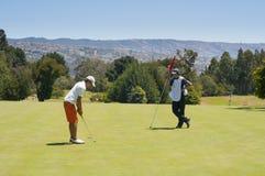 Golfkampioenschap stock foto