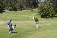 Golfkampioenschap royalty-vrije stock afbeelding