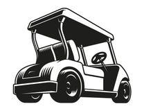 Golfkar stock illustratie