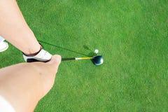 Golfklubb Royaltyfria Bilder