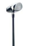 Golfklubb på vitbakgrund Arkivfoton
