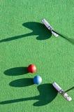 Golfkonzentration Stockfoto