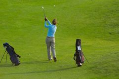 golfkvinna Fotografering för Bildbyråer