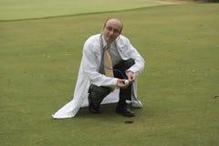 golfläkarundersökning Royaltyfri Foto