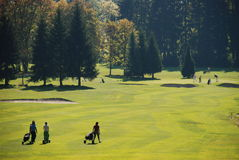 Golflekplats Royaltyfri Bild