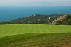 Golfloch Stockfotografie
