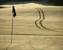 Golfloch Stockfotos