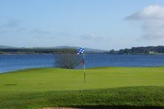 Golfloch Lizenzfreie Stockfotos