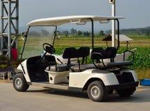 Golfmobil Lizenzfreies Stockfoto