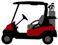 Golfmobilillustration stock abbildung