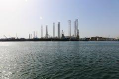 Golfo árabe - Shrjah fotografia de stock royalty free
