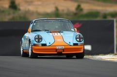 Golfo 1973 de Motorsport Porsche 911 foto de stock royalty free
