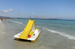 Golfo aranci coastline. Royalty Free Stock Photography