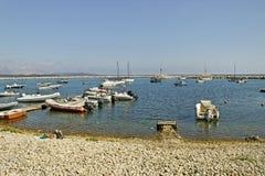 Golfo aranci coastline. Royalty Free Stock Images