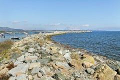 Golfo aranci coastline. Royalty Free Stock Photo